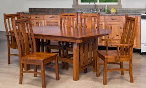 Dining Sets Amish Furniture In Shipshewana Indiana - Amish oak dining room furniture