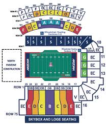 Arizona Stadium Seating Chart Arizona Stadium Stadiums Cfb History