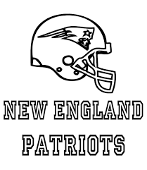 free new england patriots coloring pages patriot football