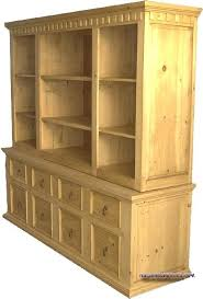 mexican pine bookcase credenza bookcase style corona mexican pine shelves