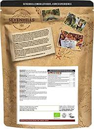 Sevenhills Wholefoods <b>Organic Turmeric Powder</b> 1kg: Amazon.co ...