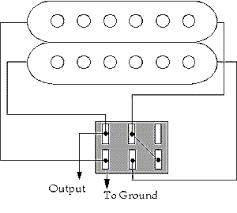 guitar wiring ideas on the other hand if a 3 position on on on dpdt switch was used it would produce 3 distinctive sounds series normal single coil parallel