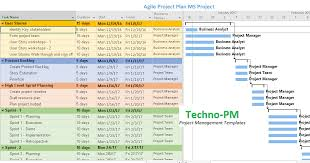 Agile Project Planning 6 Project Plan Templates Project