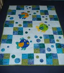 Best 25+ Baby quilts ideas on Pinterest | Baby quilt patterns ... & This quilt just makes me giggle. Must be the fish blowing bubbles! It looks Adamdwight.com