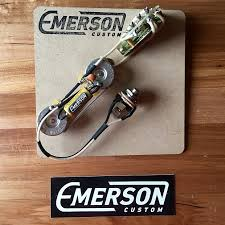 emerson custom thinline telecaster wiring harness 4 way reverb emerson custom thinline telecaster wiring harness 4 way