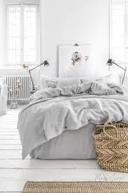 light grey linen duvet set magiclinen