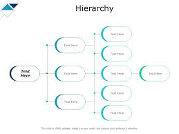 Hierarchy With Four Steps Ppt Powerpoint Presentation