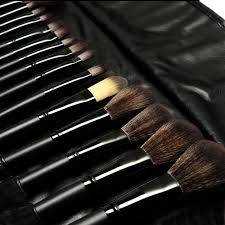 goat hair makeup brush set
