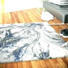 watercolor area rug blue