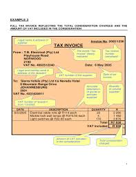 Examples Of Tax Invoices Unique Examples Of Valid Tax InvoiceTemplates Free Download