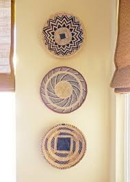 african wall accents within famous wall decor good look baskets as wall decor woven wall
