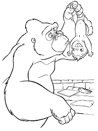 Small Picture Tarzan Coloring Pages Best For Kids Inside zimeonme