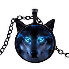 Wintefei Unisex Jewelry Retro Wolf Head Pendant ... - Amazon.com