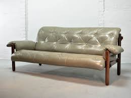 leather and wood sofa. Exquisite Brazilian Leather \u0026 Jacarandá Wood Sofa By Jean Gillon For Woodart And 3