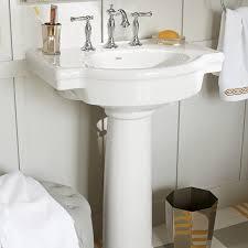 Image Pmcshop Bathroom Sinks Retrospect 27 Inch Pedestal Sink White American Standard Retrospect 27inch Pedestal Sink American Standard