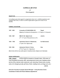 Whats A Good Objective For A Resume Simple Good Objectives On A Resume Job Objective Resume Excellent Resume