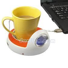 usb hub 4 port coffee cup warmer heater calendar desk mug heater time clock pc