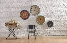 the main parts of a wall clock home