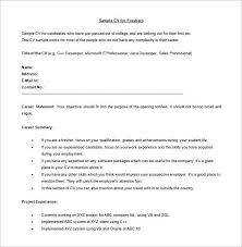 fresher resume usa