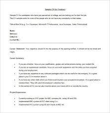 fresher resume usa