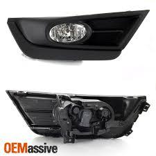 2018 Honda Crv Fog Light Bulb Replacement Details About Fit Black 2017 2018 Honda Crv Cr V Clear Bumper Fog Lights W Switch Wiring Bulbs