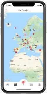 Pin Traveler World Travel Map