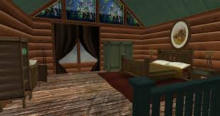 Log Cabin Bedroom Cool Log Cabin Interiors A Design And Ideas