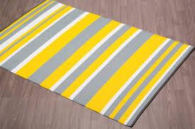 fiesta outdoor plastic yellow stripe rug