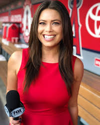 The Daily Aztec   Alumna Alex Curry shares her journey from SDSU to Angels'  sideline reporter