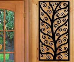 Small Picture Metal Wall Designs Wrought Iron Wall Decor Good Decorating Ideas