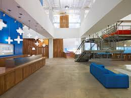Jwt new york office Reception Jwt New York Clive Wilkinson Architects Clive Wilkinson Architects Jwt New York
