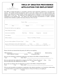Filling Out Resume Adorable Free Printable Ymca Job Application Form Cancellation Filled Fill