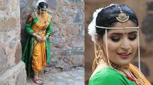 brides of india the marathi maharashtrian bride makeup tutorial shreya jain