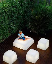 unique indoor lighting. Contemporary And Unique Light Seats Design For Outdoor Indoor Lighting, Lite Cube Lighting E