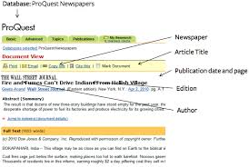 Mla Format For Articles How To Cite A Newspaper In Mla 7 Easybib Blog