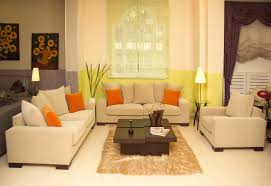 Living Room Color Schemes Beige Couch Orange And Brown Living Room Curtains Yes Yes Go