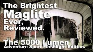 The Brightest Maglite Ever Reviewed 5000 And 2000 Lumen Monster Flashlights