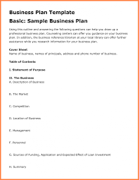 example of a business plan great my business plan sample images gallery restaurant