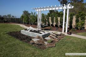 patio with fire pit and pergola. Rectangle-outdoor-firepit Patio With Fire Pit And Pergola I