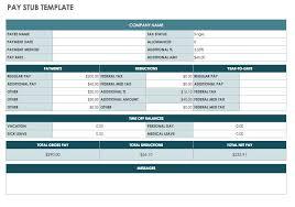 Free Printable Pay Stubs Forms Payroll Stub Form Omfar Mcpgroup Co