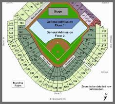 Comerica Seating Chart For Concerts 16 Abundant Interactive Seating Chart For Comerica Park