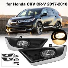 2017 Honda Crv Fog Lights Us 47 32 48 Off Dc 12v 40a H11 Bulbs Pair Abs Bumper Fog Lights For Honda Crv Cr V 2017 2018 Driving Lamps W Wiring Harness Front Left Right In Car