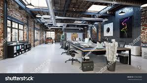 loft office. Loft Workplace. Office Interior. Modern Office. Workspace. P