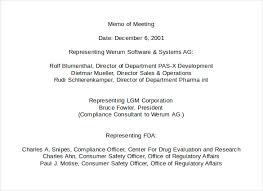 Memo To Board Of Directors 100 Meeting Memo Templates Free Sample Example Format Download 73