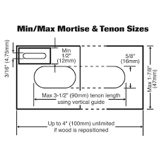 mortise and tenon jig. this product includes: mortise and tenon jig