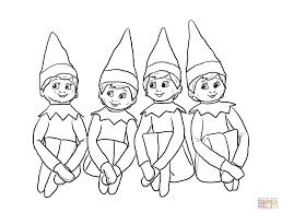 Kirimkan ini lewat email blogthis! Printable Girl Elf On The Shelf Coloring Pages Coloring Home