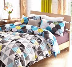 piquant duvet cover for set and bedroom geometric bedding sets covers teens along with wooden bed