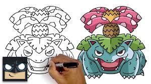 Cách vẽ Venusaur | Pokemon - Phim hoạt hình trực tuyến