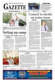 Centre County Gazette, Sept. 7 by Indiana Printing \u0026 Publishing ...