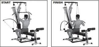 Bowflex Xtl Exercise Wall Chart Building Lats On The Bowflex Bowflex Workout Gym Workouts